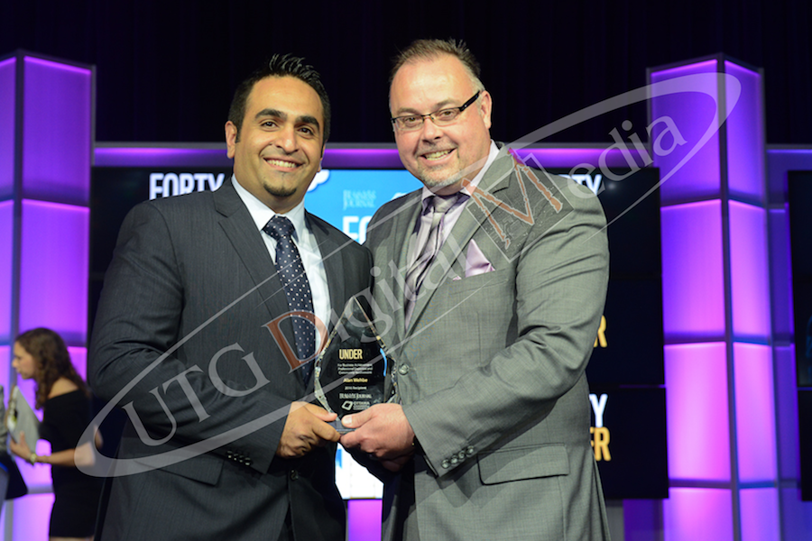 UTG Digital Media President, Alan Wehbe, Recipient of 2016 Forty Under 40 Award