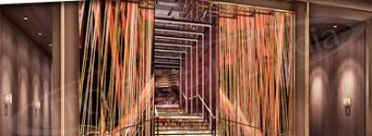 PROJECTS: LED STAIRCASE LEADS WAY INTO NEW VEGAS NIGHTCLUB