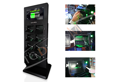 UTG Digital Media Charging Station with Instructions