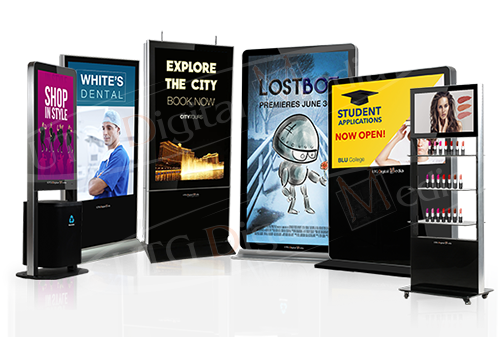 UTG's Stand-Up Digital Signage