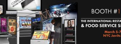UTG Digital Media At New York International  Restaurant & Food Service Show