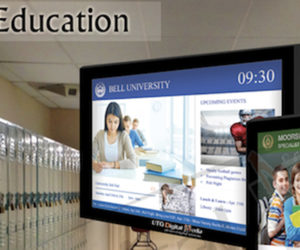Fast Growth of Digital Signage in Education Market