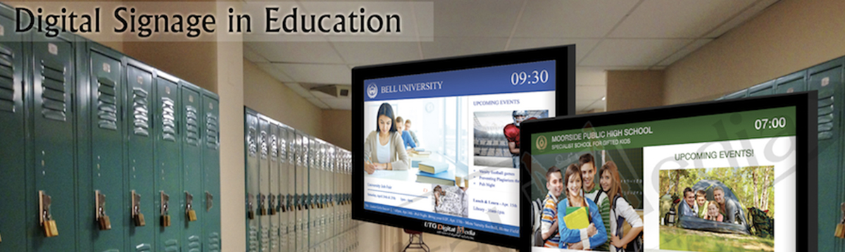 An image of Digital Signage in Education