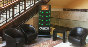 An image of UTG's Charging Station in the Museum of Nature