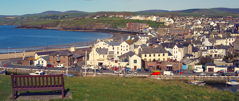 An image of Douglas, the capital town of the Isle of Man