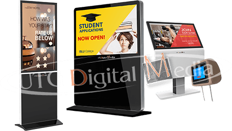 UTG's Digital Signage Collage