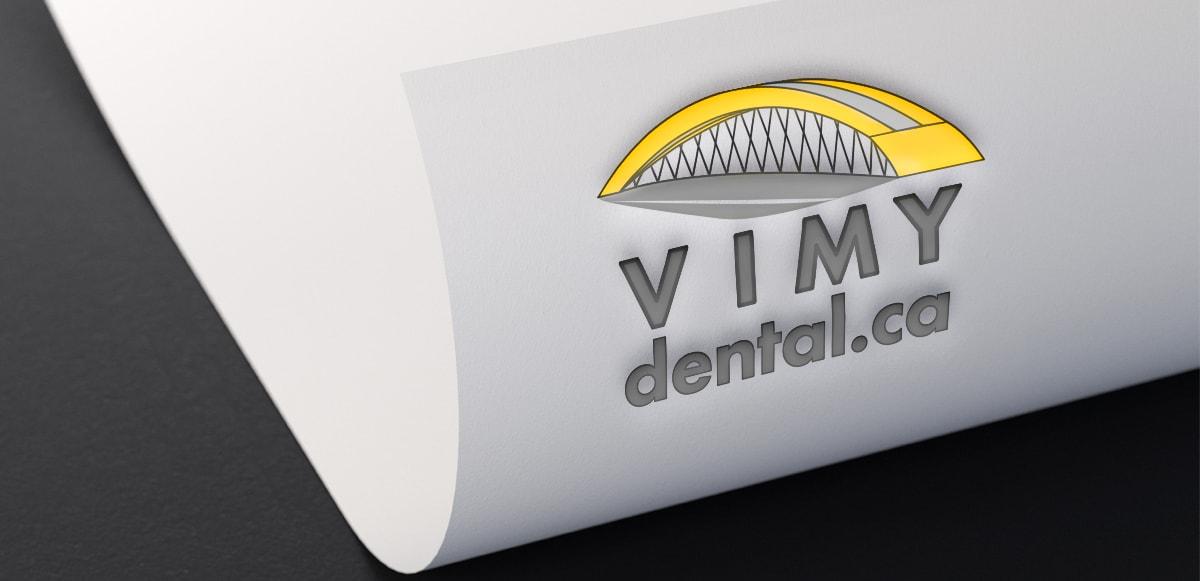 Vimy Dental Logo UTG Digital Media