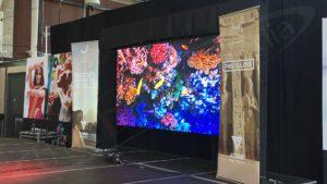 UTG's LED rental display at Ottawa Welcomes The World: Egypt