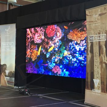 Embassy of Egypt, Ottawa Welcomes the World – LED Screen