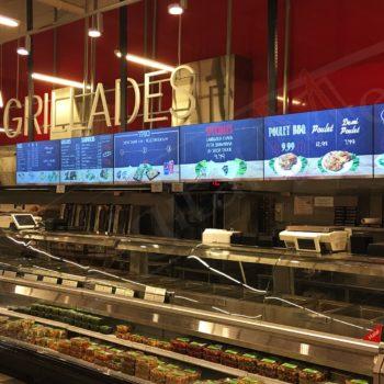 Adonis, Laval – Digital Menu Displays
