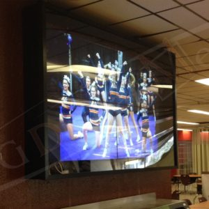 CEGEP – 46″ Video Wall