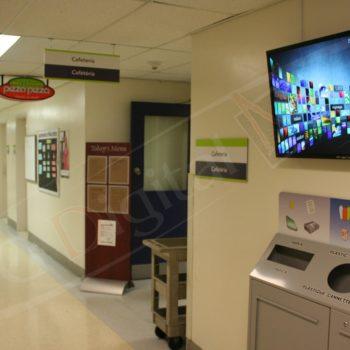 CHEO – Wall Mounted Screen