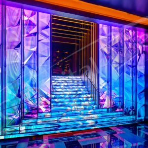 LED Stairs – Digital Signage Awards, Las Vegas