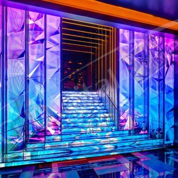 LED Stairs – Digital Signage Awards, Las Vegas