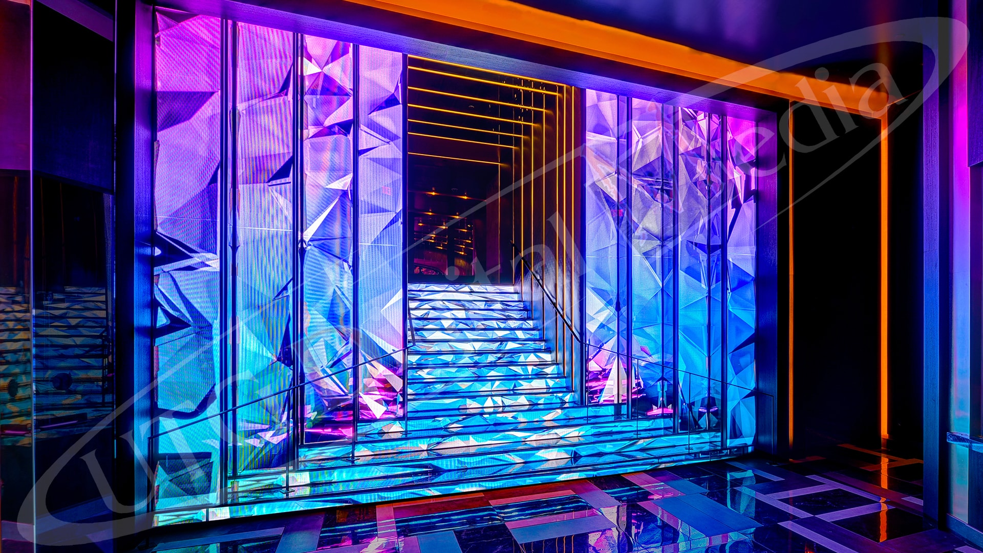 Digital Signage Awards - UTG's LED Stairs