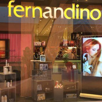 Fernandino Rideau – Stand Up Display