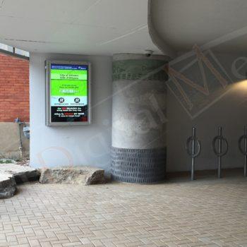 Glebe Parking – Outdoor LCD Box