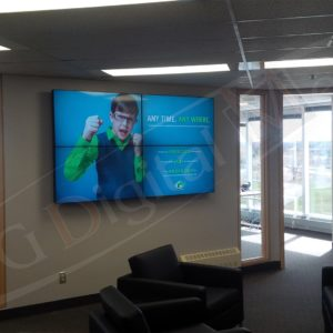 Goodfellow –  46″ Video Wall