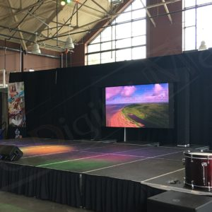 Embassy of Gyana, Ottawa Welcomes the World – 5′ x 10′ P3mm LED Screen