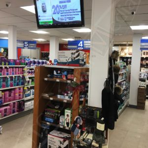 IDA Pharmacy – 32″ Digital Advertisement Displays