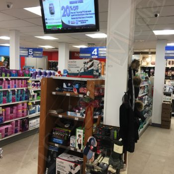 IDA Pharmacy – Digital Advertisement Displays