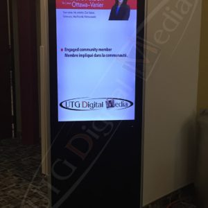 Khatera Akbari, Elections – 43″ Stand Up LCD