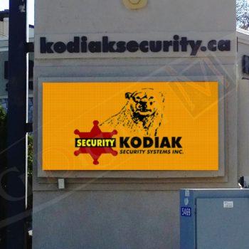 Kodiak – Outdoor LED Pylon