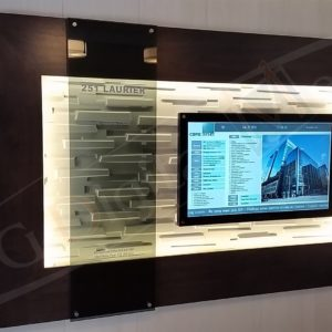 251 Laurier – 43″ Digital Directory