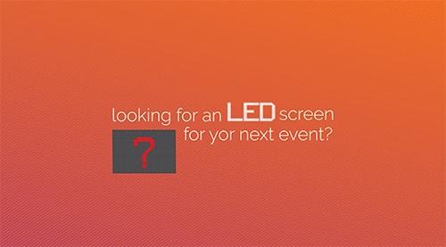 LED Rental