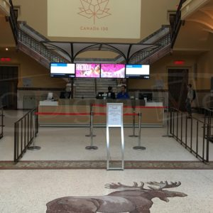 Museum of Nature – 55″ SS Promotional Displays