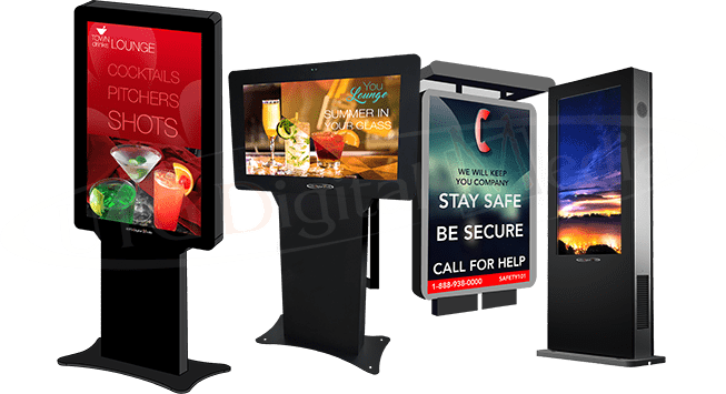 Outdoor Digital Signage by UTG
