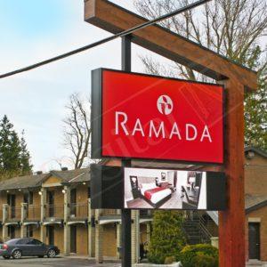Ramada – 3′ x 8′ DS P10mm Outdoor Pylon