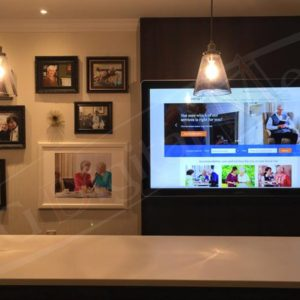 Revera – 65″ Wall Mounted Touch Screen
