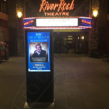 River Rock Casino – Stand Up Screen