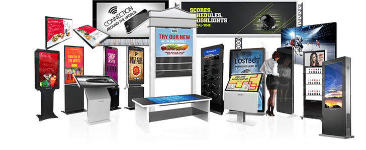 Indoor and Outdoor Digital Signage Displays | UTG Digital Media