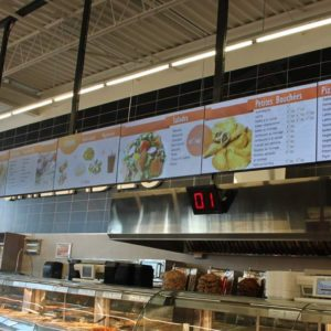 Adonis, Anjou – 46″ Video Wall Menus