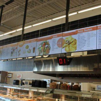 Adonis, Anjou – Digital Menu Board