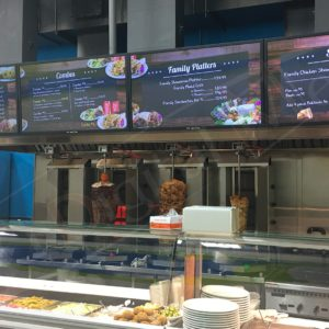 Shawarma Prince – 43″ Wall Mounted