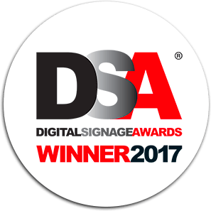 International Digital Signage Awards Winner