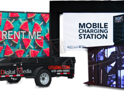 UTG EXPANDS ITS DIGITAL SIGNAGE RENTAL SOLUTIONS SERVICES – Coast to coast one stop shop for all digital signage advertising solutions