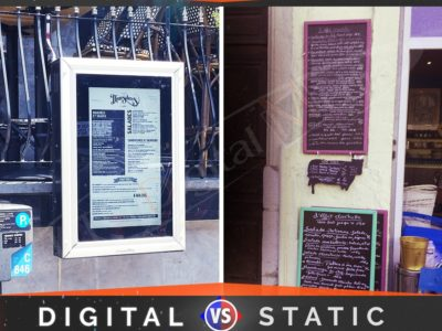 The Need of Outdoor Digital Screens for Restaurants