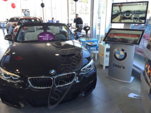 A UTG Touch Screen at Otto's BMW