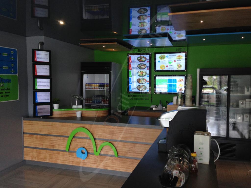 Croco Bento – Wall Mounted LCD Screen