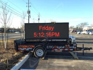A UTG Mobile LED Trailer at Farmboy