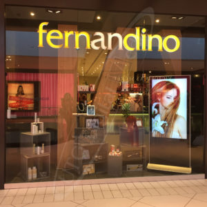 Fernandino – Indoor LCD Standup Screen