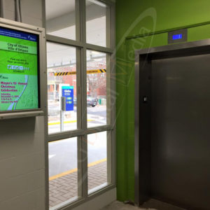 Glebe Parking Garage – Outdoor Menu Box