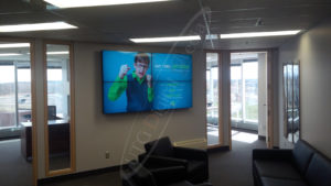 A UTG Video Wall at Goodfellow