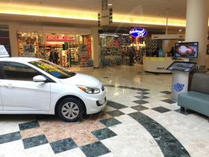 A UTG Touch Screen at Hyundai