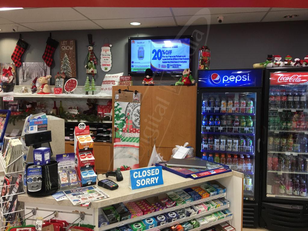 IDA Pharmacy – Wall Mounted LCD Screen