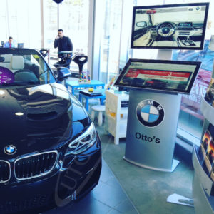 A UTG Touch Screen at Otto's Dealership